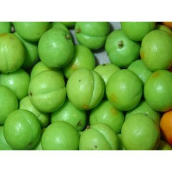meyve sabunu yeşil erik
